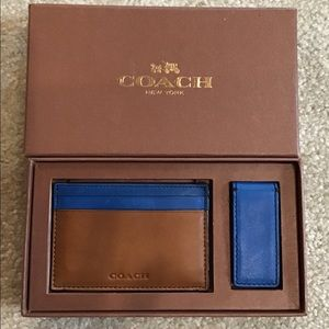 Coach Men's Card Case & Money Clip
